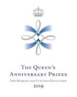 Queens Anniversary Prize logo